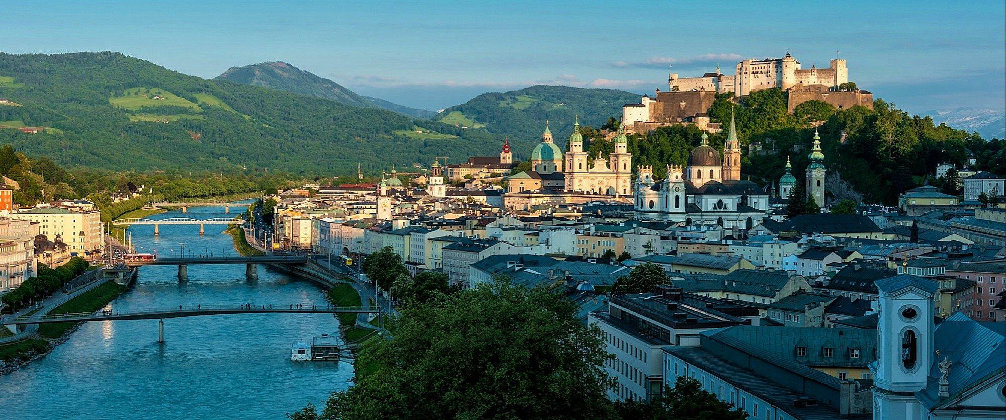 Salzburg Stadt © Tourismus Salzburg Gmbh
