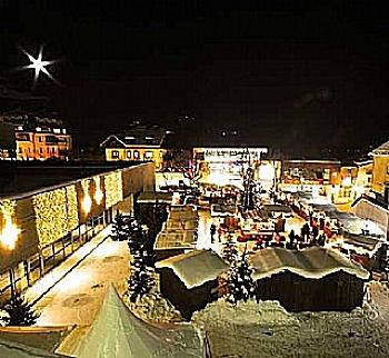 Zum Einkaufen in die Altstadt von Zell am See