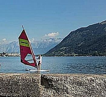 Windsurfen, Segeln und Stand-up-Paddling