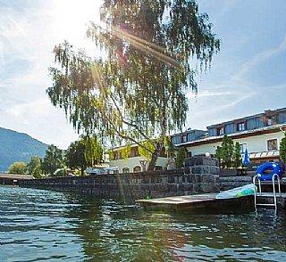 Hostel Zell Seespitz Seezugang © Repolusk