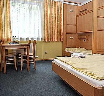 Zimmer und Verpflegung