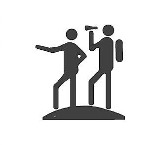 Ausstattungssymbol Wandern © interact