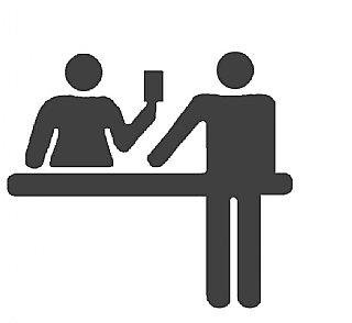 Ausstattungssymbol Rezeption © interact