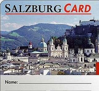 Symbolbild Salzburg-Card