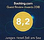 Junges Hotel Zell am See - Seespitz von Booking.com ausgezeichnet