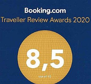 Erneut ausgezeichnet von Booking.com!