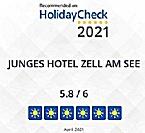Junges Hotel Zell am See - Seespitz erneut von HolidayCheck ausgezeichnet