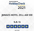 Junges Hotel Zell am See - Seespitz again awarded on HolidayCheck